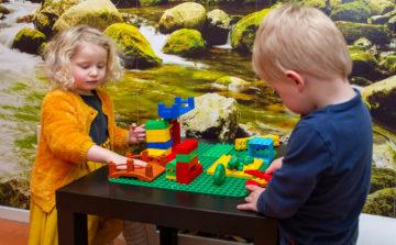 Bouwen met de duplo bij kinderdagverblijf - Up Kinderopvang aan de Daniël Catterwijckstraat in Rijswijk
