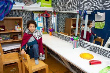 De koning te rijk bij buitenschoolse opvang Up Kinderopvang aan Beetslaan in Rijswijk