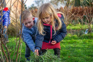De natuur in bij Up kinderopvang aan de Beetslaan in Rijswijk