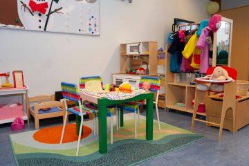 Gezellige kamer bij peuteropvang - Up Kinderopvang aan Böttgerwater - Den Haag Ypenburg