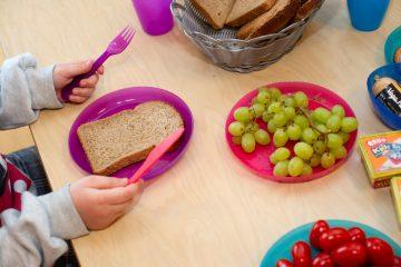 Gezonde lunch bij bso Up Kinderopvang aan Admiraal Helfrichsingel Rijswijk