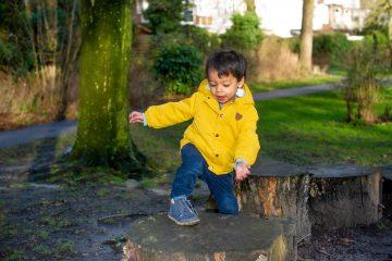 Op avontuur in de natuur bij Up Kinderopvang aan de Beetslaan in Rijswijk
