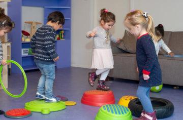 Peutergym bij peuteropvang - Up Kinderopvang aan de P.C. Boutenslaan in Rijswijk