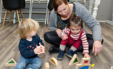 Samen bouwen bij kinderdagverblijf - Up Kinderopvang aan de Esdoornstraat Rijswijk