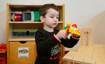 Spelen bij peuteropvang - Up Kinderopvang aan de Henri Dunantlaan in Rijswijk