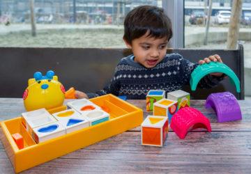 Van groot naar klein bij peuteropvang - Up Kinderopvang aan de P.C. Boutenslaan in Rijswijk