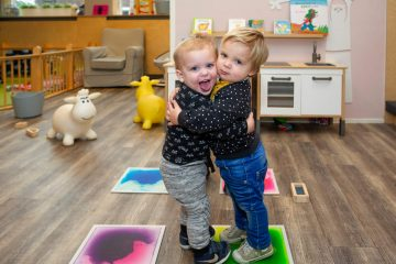 Vriendjes voor het leven bij kinderdagverblijf - Up Kinderopvang aan de Esdoornstraat Rijswijk