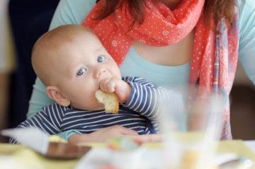 Eerste boterham voor je baby